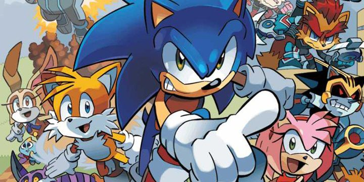 Sonic The Hedgehog Comic Book Series Leaves Archie Comics Techie Gamers