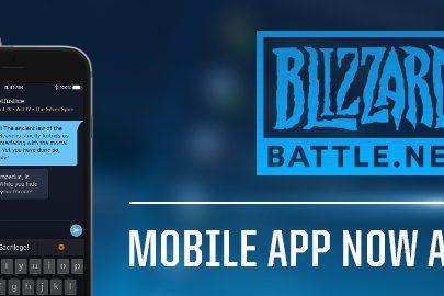 blizzard mobile app