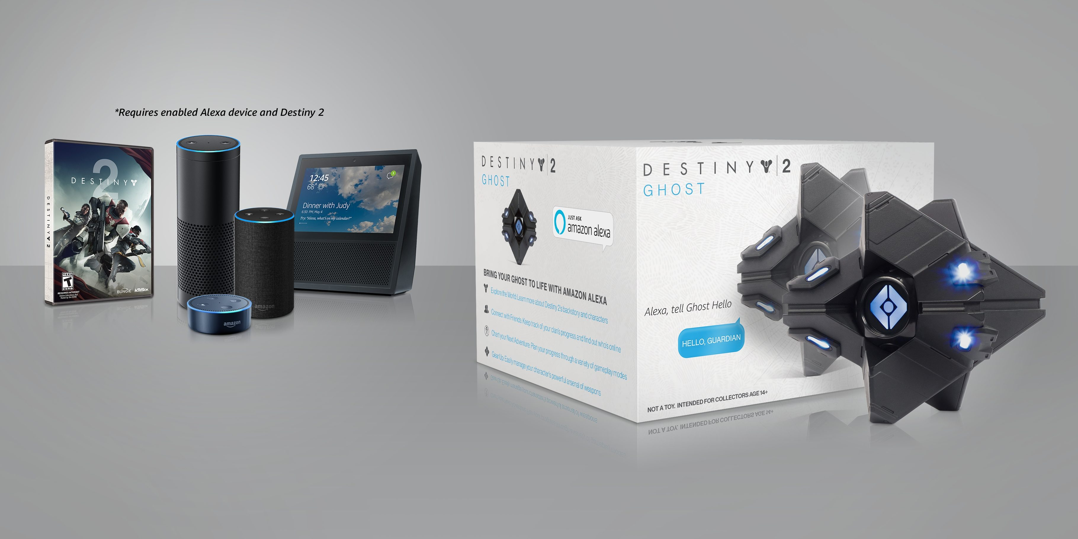 Destiny 2 Ghost Replica Wi-Fi Smart Speaker Available Now