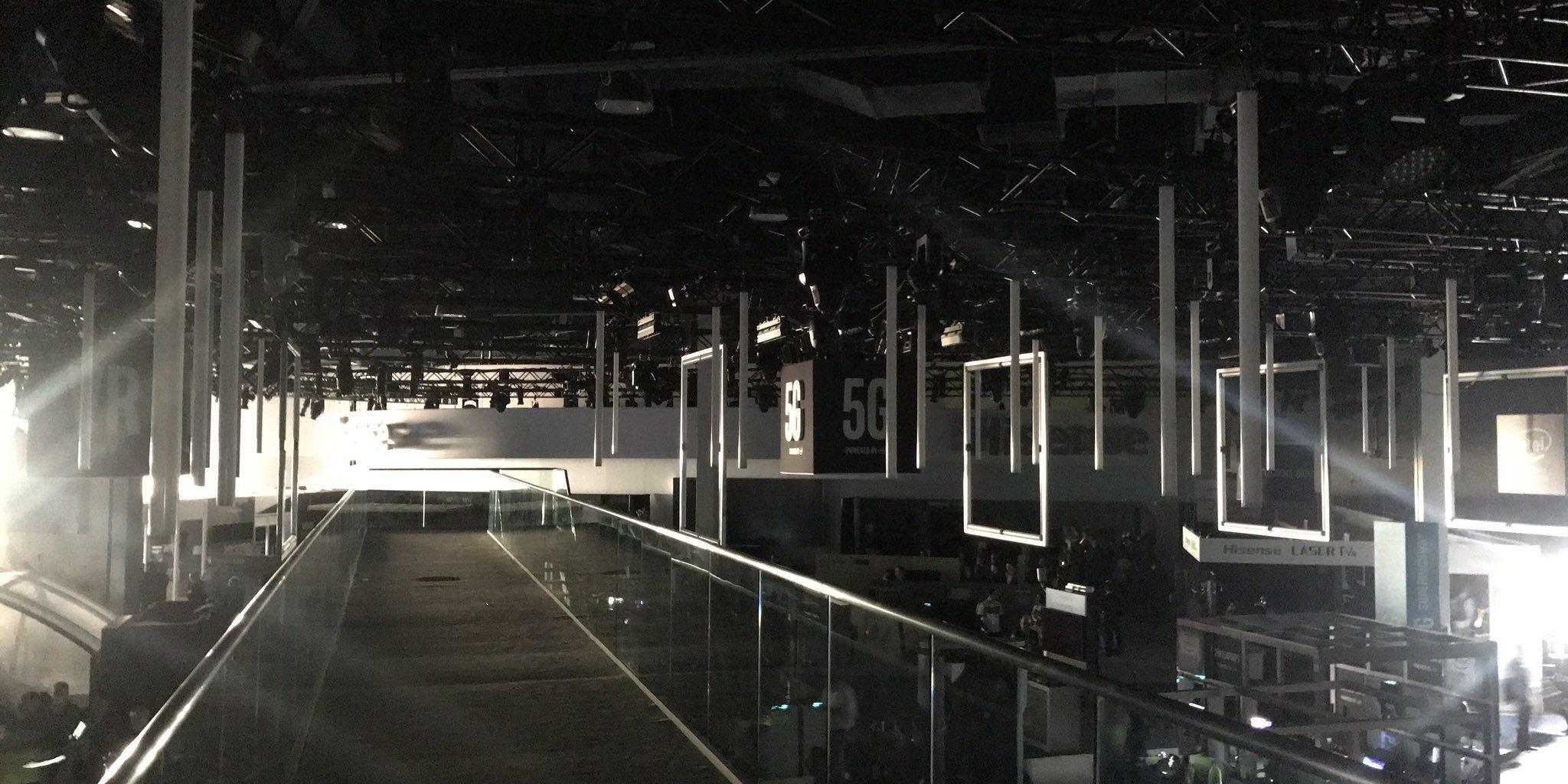 Power Cut At Major Las Vegas Tech Show