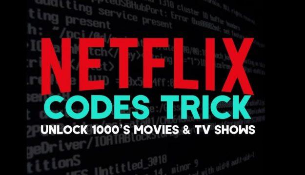 Netflix hidden code list