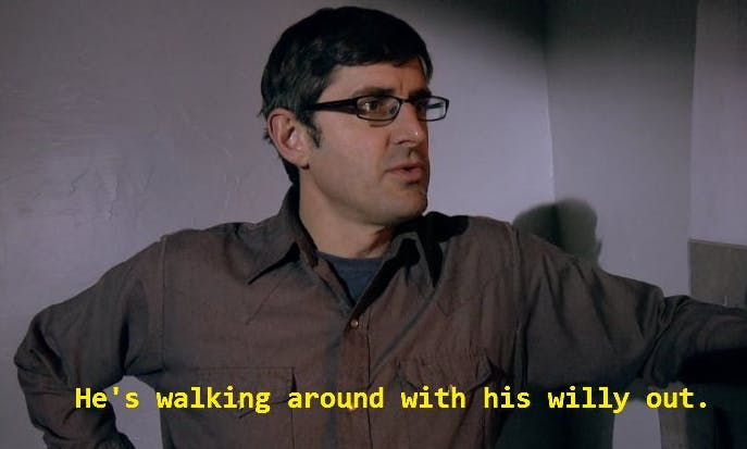 Louis Theroux meme
